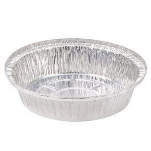 """Aluminum Take out Containers 7"""" (500 / cs)"""