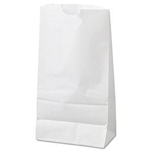 Paper grocery Bags White No.10 (6.56 x 4.06 x 13) (500 / Pqt)