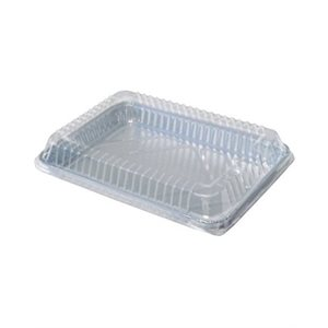 Plastic Dome Lid For 1 / 2 Size Sheet Cake (100 / cs)