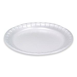 Foam Plate 10 1 / 4'' (500 / cs)