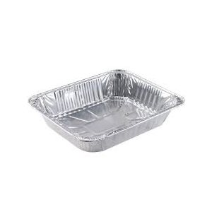 Aluminum 1 / 2 Size Steam Table Medium 100 / cs (Mi-Ma Pack)
