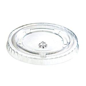 Portion Cup Lid Clear 1.5 - 2 OZ Mi-Ma (2500 / cs)
