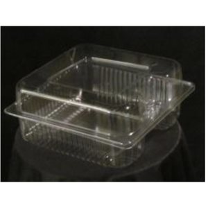 Single Cavity Smooth Wall Deep Plastic Container VP5517D (500 / cs)